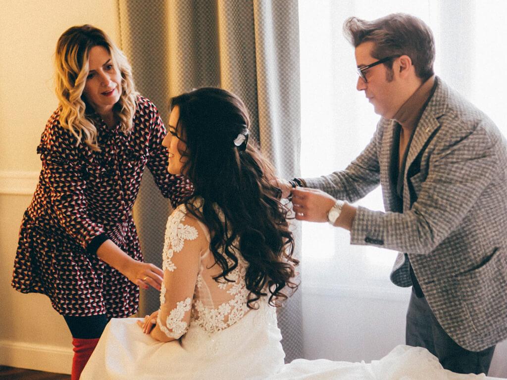 Día de la boda. Glamour estilistas. Zaragoza